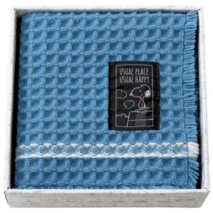 SNOOPY(スヌーピー)  ピーナッツ バスマット 91274(ブルー) 《 ギフト プレゼント 御祝 内祝 》|kitchen