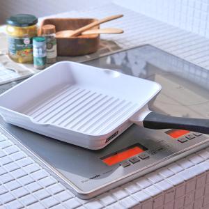KEVNHAUN D STYLE/ケヴンハウン ディー スタイル ケヴンウェーブグリルパン 28cm(KDSWG28)<ホワイト>|kitchen