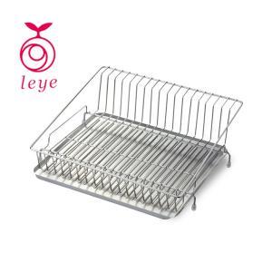 【送料無料】レイエ 水が流れるステンレス水切りカゴ LS1541 【 leye AUX オークス キッチン用品 】|kitchen
