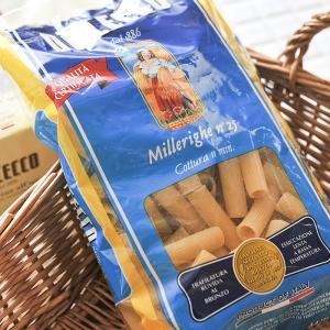 DE CECCO/ディチェコ ミッレリーゲ No.25 【マカロニ/Millerighe】 《food》<500g>|kitchen