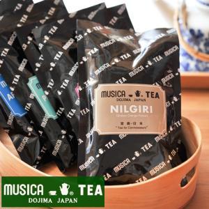ムジカティー ニルギリ  【MUSICA ムジカ 紅茶 / 堂島 / NILGIRI(BOP) / Broken Orange Pekoe】<100g>|kitchen