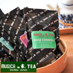 ムジカティー ローズコングー  【MUSICA ムジカ 紅茶 / 堂島 / ROSE CONGOU】<100g>|kitchen