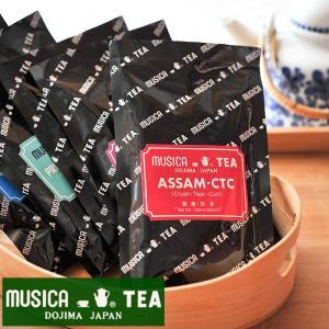 ムジカティー アッサムCTC  【MUSICA ムジカ 紅茶 / 堂島 / シーティーシー / ASSAM・CTC】<100g>|kitchen
