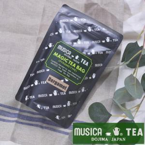 ムジカティー MAGIC TEA BAG マジックティーバッグ BERGAMOT 【ムジカ紅茶 / 堂島】<20個入り>|kitchen