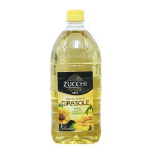 ズッキ社 ひまわり油(オーリオ・ディ・ジラソーレ) 2L(PET)<6本セット>【 ZUCCHI イタリア 箱入りセットでお買い得 】|kitchen