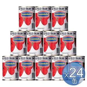 【箱入りセットでお買い得】MONTEBELLO/モンテベッロ ホールトマト 400g <24缶セット>|kitchen