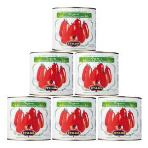 【箱入りセットでお買い得】MONTEBELLO/モンテベッロ 有機ホールトマト 2.55kg<6缶セット>|kitchen