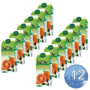 【箱入りセットでお買い得】 ORANFRIZER/オランフリーゼル社 ビオール 有機ブラッドオレンジジュース 750g <12パックセット> 【冷凍便でお届け】|kitchen