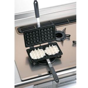ワッフルメーカー ベルジャンワッフルメーカー IH対応|kitchen