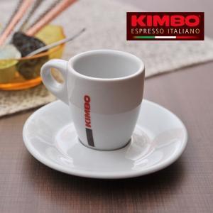 キンボ エスプレッソカップ&ソーサー 60mL  【 KIMBO コーヒー カップ アロマ イタリア ナポリ アドキッチン 】|kitchen