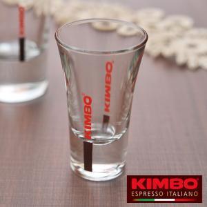 キンボ ガラス製 ウォーターグラス 50mL  【 KIMBO コーヒー アロマ イタリア ナポリ アドキッチン 】 kitchen
