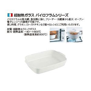 パイロフラム レクタンギュラーディッシュ 30cm×18cm(P30B000/5043)|kitchen