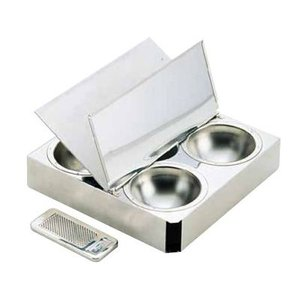 マトファ 18-10スパイスボックス 01801(チョコレート削器付)(1801)|kitchen