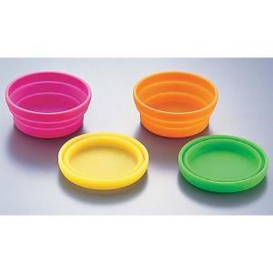 シリコンアイスカップ 4色セット <4色セット >|kitchen