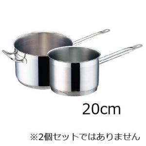 TKG PRO(プロ)片手深型鍋 (蓋無) 20cm|kitchen