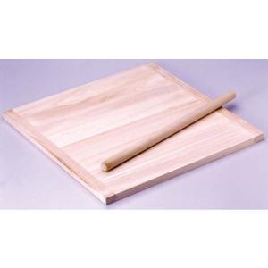 木製 のし板 めん棒付 (桐材) 小 <小>|kitchen