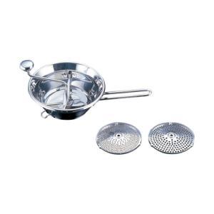 18-10 シルバーシャイン ムーラン No.42514 中 φ240mm (No.42514) <中 φ240mm>|kitchen