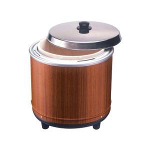 電気びつ エバーホットすしシャリ用 (木目) NV-25|kitchen