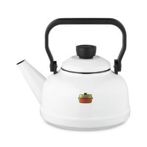 富士ホーロー SOlid Serie ソリッド ケトル 2.3L <ホワイト>SD-2.3K・W 【 やかん IH対応 】|kitchen