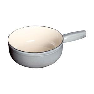 ストウブ チーズフォンデュポット 23cm 40509-600 <グレー> kitchen