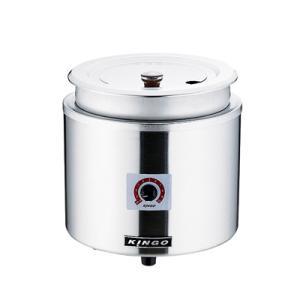 KINGO 湯煎式電気スープジャー 11L D9001 φ320×H335mm|kitchen