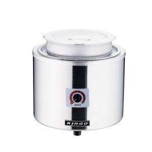 KINGO 湯煎式電気スープジャー 7L D9001 φ320×H315mm|kitchen