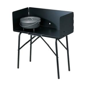 ロッジ クッキングテーブル A5-7 810×410×H900mm(風防高さ305)|kitchen