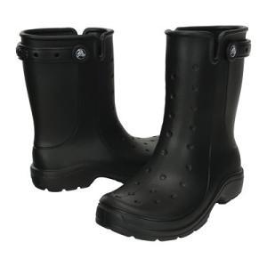 クロックス レニー2.0ブーツ16010 23cm<ブラック> 黒 くろっくす black CROCS crocs レインブーツ レインシューズ 雨靴 梅雨対策|kitchen