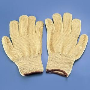 テクノーラ 超高密度作業手袋 EGG-21 (耐切創性・耐熱性)(左右1組) 全長250mm
