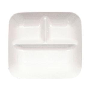 耐熱ABS ランチプレート RPR-P 245×225×H30mm <パールトーン>|kitchen