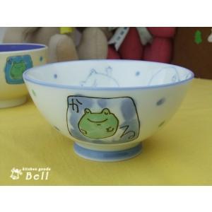 子供茶碗 かえる キッズご飯茶わん|kitchengoods-bell