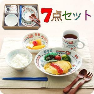 子供食器セット とれいんとれいん7点セット 皿 小鉢 茶碗 マグ 箸 スプーン フォーク TREVPKO|kitchengoods-bell