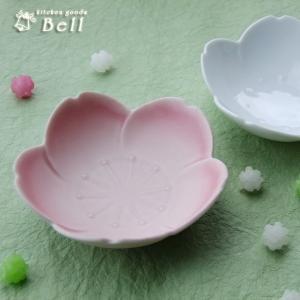 桃色桜 浅 小鉢 取り鉢 花形 デザート鉢 日本製 鉢 ボウル|kitchengoods-bell