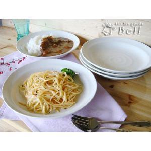 定番のカレーパスタ皿5枚セット 洋食器 日本製 大皿 カフェ食器 プレート 丸皿|kitchengoods-bell