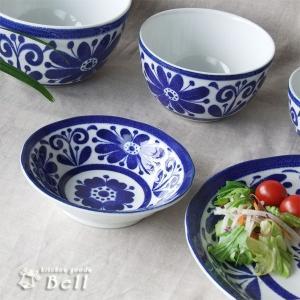 インディゴブルー フルーツ皿 取り鉢 小鉢 サラダボウル 日本製 鉢 ボウル 日本製|kitchengoods-bell