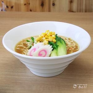 リネアホワイト 21cm ボール ラーメン丼/丼ぶり/ラーメン鉢 kitchengoods-bell