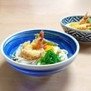 どんぶり 鉢 呉須刷毛目 麺鉢 大鉢 めん鉢 煮物鉢 サラダボウル|kitchengoods-bell