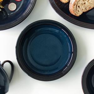 ストリームライン フォールズブルー 17.5cm プレート おしゃれ カフェ食器 デザート皿 小皿 洋食器 和食器|kitchengoods-bell