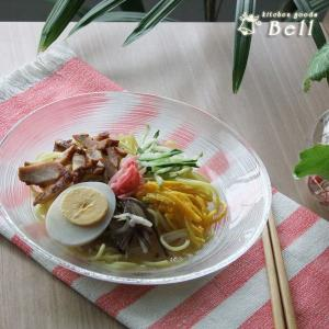 イマージュ 19cm 浅ボウル IMAGE ガラス浅鉢/麺皿/そば皿/トルコ製 kitchengoods-bell