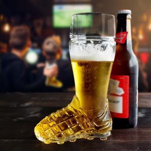 ビアグラス 600 ブートサッカー ビールグラス おしゃれ おもしろ 家飲み|kitchengoods-bell