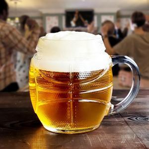 ビールジョッキ 600 スポーツマグ バスケット ボール形 ビア ビールグラス ハイボール 酎ハイ おしゃれ おもしろ|kitchengoods-bell