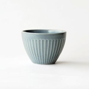 しのぎ ティーカップ グレー 洋食器 北欧 美濃焼 ゆのみ コップ カップ kitchengoods-bell
