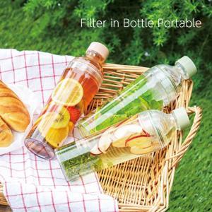 ハリオ HARIO フィルターインボトル ポータブル 400ml 水出し ボトル ギフト|kitchengoods-bell