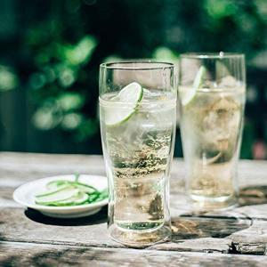 ビールグラス ハリオ ツインビアグラス380 タンブラー おしゃれ ガラス ビアーグラス HARIO kitchengoods-bell