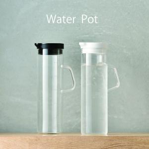 ピッチャー 耐熱 ガラス おしゃれ ハリオ ウォーターポット 水 お茶|kitchengoods-bell