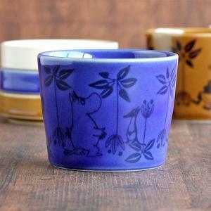 和食器 ムーミン フリーカップ ブルー 230ml MOOMIN 蒸し碗 美濃焼 そばちょこ コップ|kitchengoods-bell