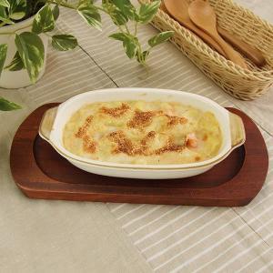 グラタン皿 舟型 小 セミストーン オーブン対応 電子レンジ対応 日本製|kitchengoods-bell