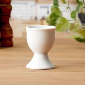 エッグスタンド 白 陶製 洋食器/カフェ食器/カフェ風/ゆでたまご/半熟卵/ゆで卵/卵立て kitchengoods-bell