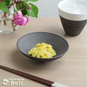 締め焼き チョコうず 反 小鉢 ボウル 煮物鉢 美濃焼 日本製 在庫限り|kitchengoods-bell