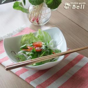 クイーンプログレ三角ボウル 洋食器 サラダボール 鉢 白い食器  kitchengoods-bell